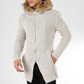 /achat-cardigans-gilets/ikao-gilet-zippe-capuche-fourrure-f3511-beige-205357.html