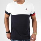 /achat-t-shirts/le-coq-sportif-tee-shirt-tricolore-n1-2010438-blanc-bleu-marine-205354.html