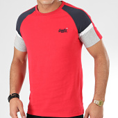 /achat-t-shirts/superdry-tee-shirt-ol-crafted-casual-baseball-m1000083a-rouge-bleu-marine-gris-chine-205296.html