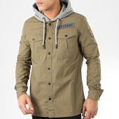 /achat-chemises-manches-longues/superdry-chemise-manches-longues-capuche-utility-m4000021a-vert-kaki-gris-chine-205374.html