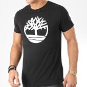 /achat-t-shirts/timberland-tee-shirt-brand-regular-a1l6o-noir-blanc-205381.html