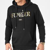 /achat-sweats-capuche/zifou-sweat-capuche-fumiier-noir-dore-205312.html