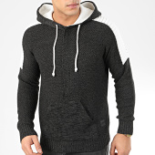 /achat-pulls/american-people-pull-col-zippe-capuche-91-073-noir-205561.html