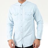 /achat-chemises-manches-longues/brave-soul-chemise-jean-manches-longues-364-season-bleu-clair-205522.html