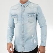 /achat-chemises-manches-longues/grj-denim-chemise-en-jean-14138-bleu-wash-205534.html