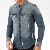 /achat-chemises-manches-longues/grj-denim-chemise-en-jean-14140-bleu-denim-205543.html