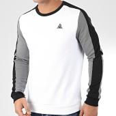 /achat-sweats-col-rond-crewneck/le-coq-sportif-sweat-crewneck-a-bandes-tech-n2-2010445-blanc-gris-noir-205492.html