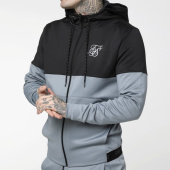 /achat-sweats-zippes-capuche/siksilk-sweat-zippe-capuche-agility-cut-and-sew-14813-gris-clair-gris-anthracite-reflechissant-205559.html