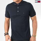 /achat-polos-manches-courtes/tommy-hilfiger-polo-manches-courtes-core-tommy-4975-bleu-marine-205472.html