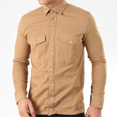 /achat-chemises-manches-longues/uniplay-chemise-jean-manches-longues-182-camel-205394.html