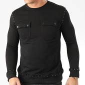 /achat-sweats-col-rond-crewneck/uniplay-sweat-crewneck-avec-clous-hd-5-noir-205397.html