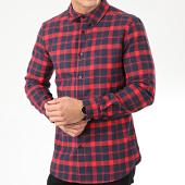 /achat-chemises-manches-longues/uniplay-chemise-manches-longues-a-carreaux-c020-rouge-bleu-marine-205398.html