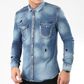 /achat-chemises-manches-longues/uniplay-chemise-jean-manches-longues-119-bleu-denim-205417.html