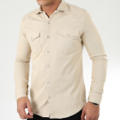 /achat-chemises-manches-longues/uniplay-chemise-jean-manches-longues-181-beige-205422.html