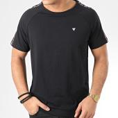 /achat-t-shirts/guess-tee-shirt-a-bandes-u01m00-jr003-noir-205616.html