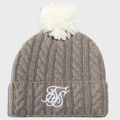 /achat-bonnets/siksilk-bonnet-cable-bobble-15256-gris-blanc-205568.html