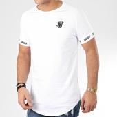 /achat-t-shirts-longs-oversize/siksilk-tee-shirt-oversize-raglan-tech-17042-blanc-205569.html