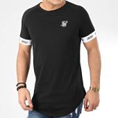 /achat-t-shirts-longs-oversize/siksilk-tee-shirt-oversize-raglan-tech-17017-noir-205573.html