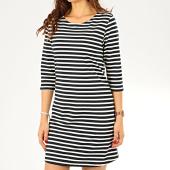 /achat-robes/only-robe-femme-a-rayures-brilliant-34-blanc-bleu-marine-205658.html