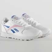 /achat-baskets-basses/reebok-baskets-femme-classic-leather-eh1864-white-humble-blue-jasmine-pink-205667.html