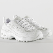 /achat-baskets-basses/skechers-baskets-femme-dlites-glamour-feels-13087-white-silver-205644.html