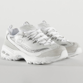 /achat-baskets-basses/skechers-baskets-femme-dlites-glimmer-eve-13155-white-silver-205645.html