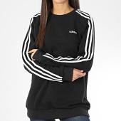 /achat-sweats-col-rond-crewneck/adidas-sweat-crewneck-femme-oversize-a-bandes-essential-boyfriend-fn5782-noir-blanc-205905.html