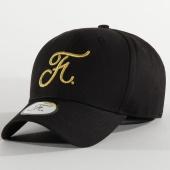 /achat-casquettes-de-baseball/final-club-casquette-premium-avec-broderie-gold-19-noir-205888.html