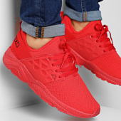 /achat-baskets-basses/kappa-baskets-logo-sanantonio-304igy0-red-true-black-205802.html