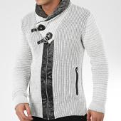/achat-cardigans-gilets/mackten-gilet-col-amplified-580-blanc-gris-chine-noir-205790.html