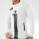 /achat-cardigans-gilets/mackten-gilet-col-amplified-575-blanc-casse-chine-205796.html