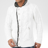 /achat-cardigans-gilets/mackten-gilet-col-amplified-044-blanc-gris-chine-205798.html