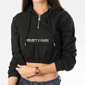 /achat-sweats-capuche/project-x-sweat-capuche-col-zippe-femme-crop-f192029-noir-205785.html