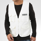 /achat-cardigans-gilets/sixth-june-gilet-tactique-m32079cja-ecru-reflechissant-205873.html