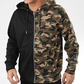 /achat-sweats-zippes-capuche/sixth-june-sweat-zippe-capuche-m4053vsw-noir-vert-kaki-camouflage-205908.html