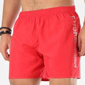 /achat-maillots-de-bain/ea7-short-de-bain-902035-cc720-rouge-argente-206055.html