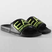/achat-claquettes-sandales/ea7-claquettes-slipper-visibility-xcp001-xcc22-noir-fluo-206076.html