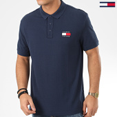 /achat-polos-manches-courtes/tommy-jeans-polo-manches-courtes-tommy-badge-7456-bleu-marine-206022.html
