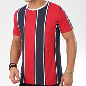 /achat-t-shirts/brave-soul-tee-shirt-a-rayures-regent-rouge-bleu-marine-blanc-206162.html
