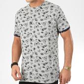 /achat-t-shirts/brave-soul-tee-shirt-sight-gris-chine-bleu-marine-206163.html