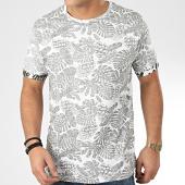 /achat-t-shirts/brave-soul-tee-shirt-floral-magnify-blanc-vert-kaki-206168.html