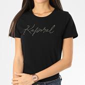 /achat-t-shirts/kaporal-tee-shirt-femme-avec-strass-raxie-noir-206132.html