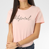 /achat-t-shirts/kaporal-tee-shirt-femme-avec-strass-raxie-rose-clair-206135.html