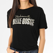 /achat-t-shirts/kaporal-tee-shirt-femme-rekio-noir-dore-206137.html