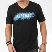 /achat-t-shirts/kaporal-tee-shirt-col-v-mass-noir-206175.html
