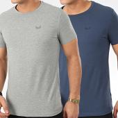/achat-t-shirts/kaporal-lot-de-2-tee-shirt-rift-bleu-marine-gris-chine-206189.html