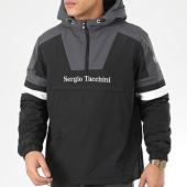 /achat-vestes/sergio-tacchini-veste-col-zippe-capuche-defoe-38366-noir-gris-blanc-206103.html