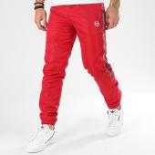 /achat-pantalons-joggings/sergio-tacchini-pantalon-jogging-a-bandes-fosh-38663-rouge-206212.html
