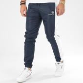 /achat-pantalons-joggings/sergio-tacchini-pantalon-jogging-a-bandes-frassino-38723-bleu-marine-blanc-206238.html