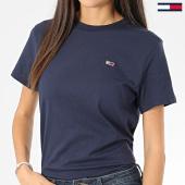 https://www.laboutiqueofficielle.com/achat-t-shirts/tommy-hilfiger-tee-shirt-femme-tommy-classics-7036-bleu-marine-206139.html